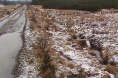 Luzenské údolí - přehrážky k zadržování vody